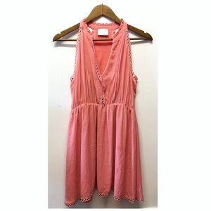 Greylin | Pink Flow Dress Embellished w/ metals